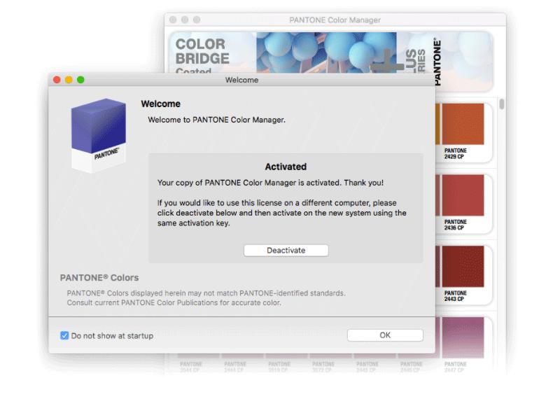 Pantone Color Manager - sådan aktiverer du