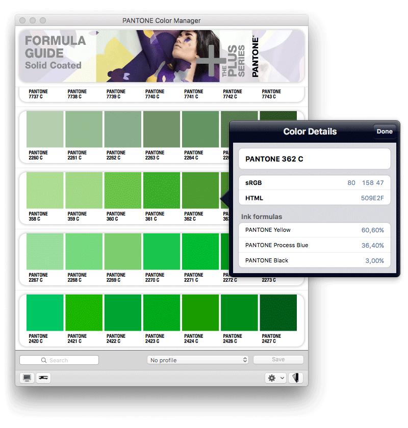 Pantone Color Manager - farver i Adobe Photoshop