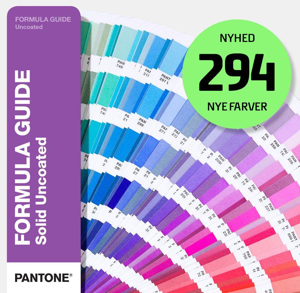 Pantone farvekort
