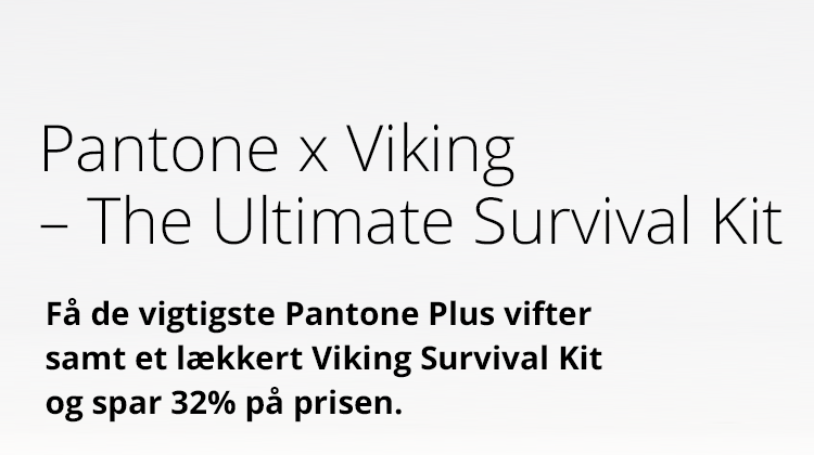 Pantone x Viking - the Ultimate Survival Kit - spar 32%
