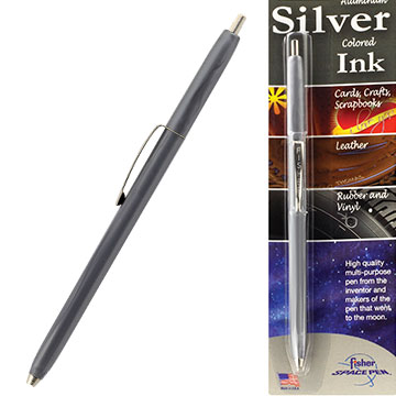 Silver Colored Ink fra Space Pen